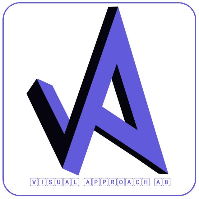 Visual approach AB logo